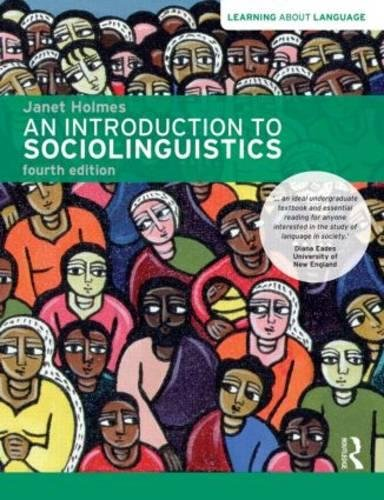 An introduction to sociollinguistics