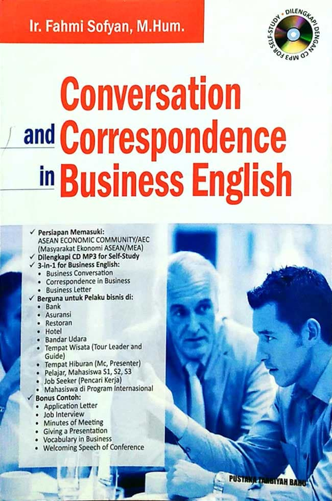 Conversation and correspondence in business english