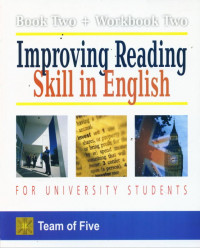 Image of Improving reading skill in English : for university student book two + workbook two